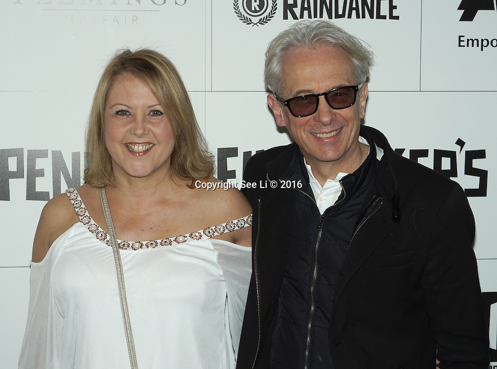 London,England,UK : Joana,Elliot Grove attend the Raindance Filmmakers Ball by London Flair Pr at Cafe De Paris  in London. Photo by See Li