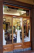Bologna, barber shop