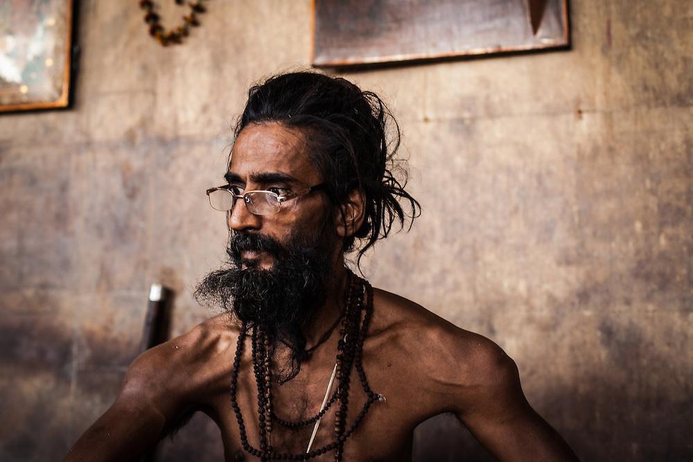 Sri Baba Nagnath Yogeshwar is the leading Aghori Sadu ascetic