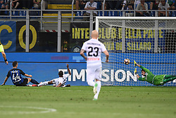 Inter vs Udinese football match at the Stadio Giuseppe Meazza in Milan, Italy. 28 May 2017 Pictured: gol Ivan Perisic goal. Photo credit: Insidefoto / MEGA TheMegaAgency.com +1 888 505 6342