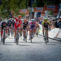 30-08-2018: Wielrennen: Ladies Tour: Gennep  <br /> Amelie Diedriksen wint de etappe rond Gennep
