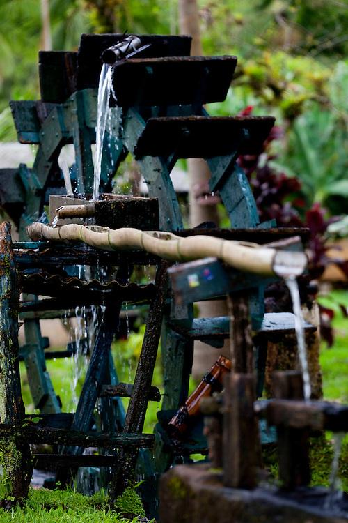 Morretes_PR, Brasil...Fazenda em Morretes, no Parana. Na foto detalhe de uma fonte...A farm in Morretes, Parana. In this photo a fountain...Foto: BRUNO MAGALHAES / NITRO