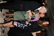 SIR ROBERT OGDEN;; ANNA OLIVEIRA; LADY CECIL, The Cartier Racing Awards. The Ballroom, Dorchester hotel. Park Lane. London. 15 November 2011. <br /> <br />  , -DO NOT ARCHIVE-© Copyright Photograph by Dafydd Jones. 248 Clapham Rd. London SW9 0PZ. Tel 0207 820 0771. www.dafjones.com.