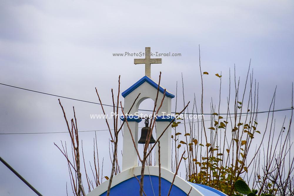 Belfry of a parish church in Chania, Crete, Greece