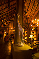 Interior views, Kapama River Lodge, Kapama Private Game Reserve, near Kruger National Park, South Africa