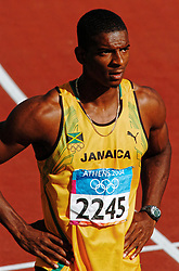 Maurice Smith JAM in action during Olympics Games Athletics day 12 on August 24, 2004 in Olympic Stadion Spyridon Louis, Athens.