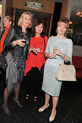 Left to right, JANE BARWOOD, SUSAN LUCAS and PETRONELLA WYATT at a ladies lunch in support of Maggie's Barts hosted by Judy Naake, Clara Weatherall and Caroline Collins at Le Cafe Anglais, 8 Porchester Gardens, London W2 on 19th March 2013.