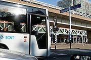 Public transport in The Hague, Netherlands / Bus van Connexxion in Den Haag, Zuid Holland
