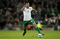Football - Carling Nations Cup - Republic of Ireland vs. Wales<br />  <br /> Darron Gibson of The Republic of Ireland during the Republic of Ireland vs. Wales Carling Nations Cup at The Aviva Stadium