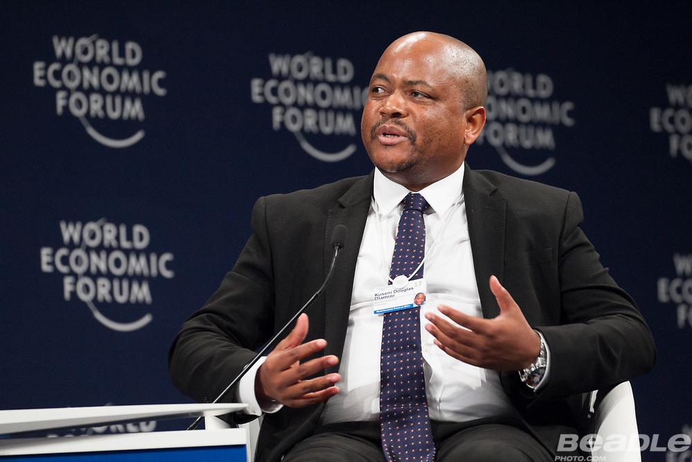 Kuseni Douglas Dlamini, Chairman<br /> Massmart Holdings, South Africa at the World Economic Forum on Africa 2017 in Durban, South Africa. Copyright by World Economic Forum / Greg Beadle