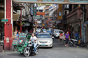 Manila's Chinatown, Ongpin street.