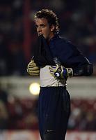 Fotball<br /> UEFA Champions League<br /> 07.12.2004<br /> Arsenal v Rosenborg<br /> Foto: SBI/Digitalsport<br /> NORWAY ONLY<br /> <br /> Arsenal's keeper Manuel Almunia