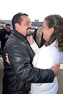 12/7/09 - 11:27:30 AM - FORTESCUE, NJ: Diana & Ken - December 7, 2009 - Fortescue, New Jersey. (Photo by William Thomas Cain/cainimages.com)
