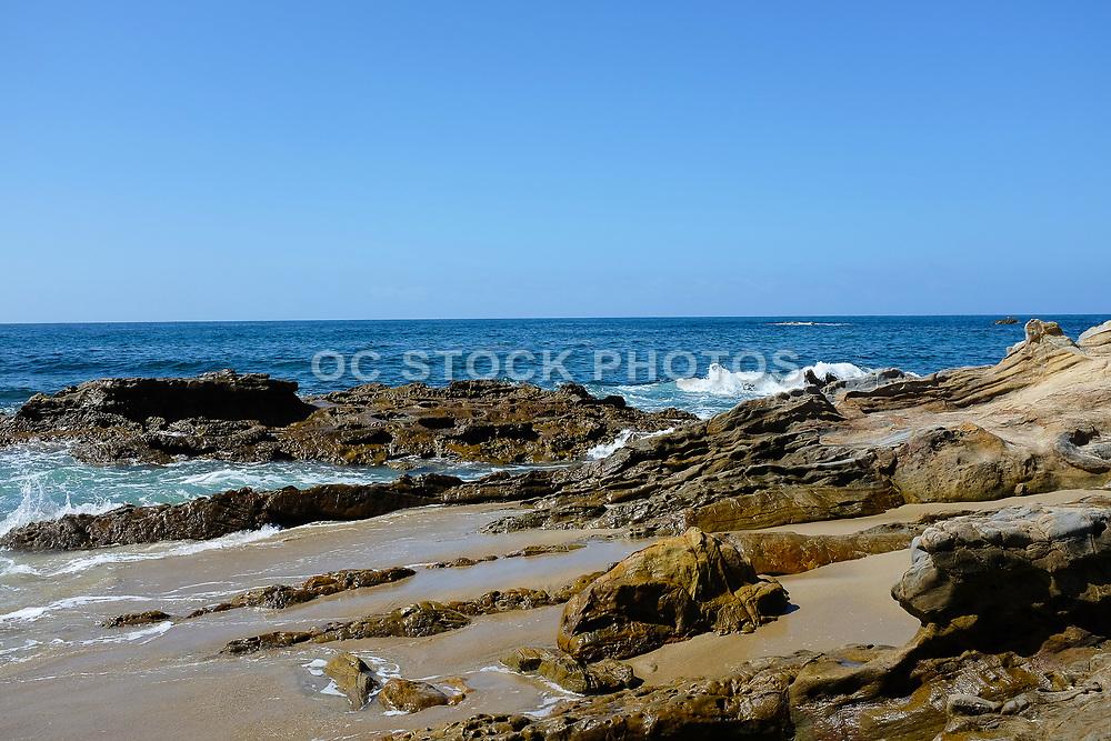 Rocky Coastline at Laguna Beach