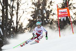 Elisa Moerzinger (AUT) during the Ladies' Giant Slalom at 57th Golden Fox event at Audi FIS Ski World Cup 2020/21, on January 17, 2021 in Podkoren, Kranjska Gora, Slovenia. Photo by Vid Ponikvar / Sportida