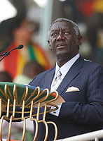Photo: Steve Bond/Richard Lane Photography.<br />Ghana v Guinea. Africa Cup of Nations. 20/01/2008. President Kuffour opens the games