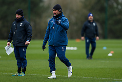Pat Lam (Director of Rugby) of Bristol Bears in action during a training session - Rogan/JMP - 04/03/2021 - RUGBY UNION - Bristol Bears High Performance Centre - Bristol, England.