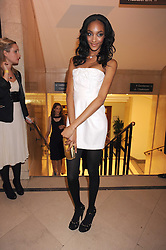 JOURDAN DUNN at the 2008 British Fashion Awards held at the Lawrence Hall, Westminster, London on 25th November 2008.