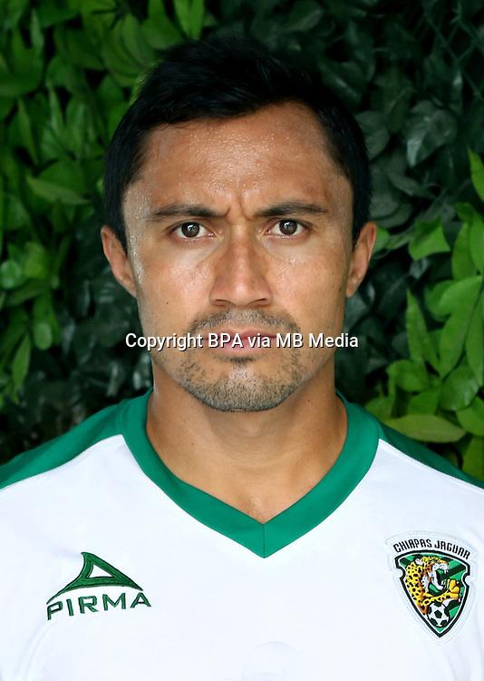 Mexico League - BBVA Bancomer MX 2015-2016 - <br /> Jaguares - Jaguares de Chiapas Futbol Club / Mexico - <br /> William Arturo Paredes