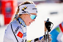 March 16, 2018 - Falun, SVERIGE - 180316 Jonna Sundling, Sverige efter semifinalen i sprint under Svenska Skidspelen den 16 mars 2018 i Falun  (Credit Image: © Simon HastegRd/Bildbyran via ZUMA Press)