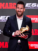 Soccer-Messi Golden Boot Trophy-Oct 16, 2019