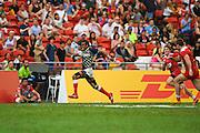 Kameli Soejima (JPN), APRIL 17, 2016 - Rugby : HSBC Sevens World Series, Singapore Sevens match Japan and Russia at National Stadium in Singapore. (Photo by Haruhiko Otsuka/AFLO)