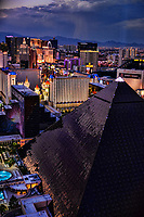 Las Vegas Strip from Mandalay Bay Hotel