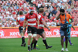 Lions captain Warren Whiteley leaves the field in the first half.  Lions vs Blues during a Super Rugby match at the Emirates Airlines Park Stadium, Ellis Park, Johannesburg, South Africa. Picture: Karen Sandison/African News Agency (ANA)