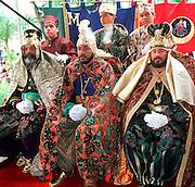 PUERTO RICO, FESTIVALS Three Kings Festival on Jan 6; in Juana Diaz near Ponce, three wisemen (kings) at ceremony