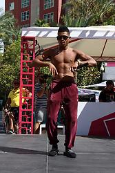 Yazz performs in Las Vegas