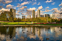 Bellevue Downtown Park, Late Afternoon