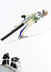 February 8, 2019 - Lahti, Finland - Julian Schmid competes during Nordic Combined, PCR/Qualification at Lahti Ski Games in Lahti, Finland on 8 February 2019. (Credit Image: © Antti Yrjonen/NurPhoto via ZUMA Press)