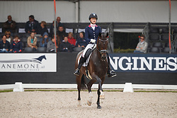 Van Liere Dinja, NED, Haute Couture<br /> Longines FEI/WBFSH World Breeding Dressage Championships for Young Horses - Ermelo 2017<br /> © Hippo Foto - Dirk Caremans<br /> 03/08/2017