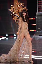 Vanessa Moody on the catwalk for the Victoria's Secret Fashion Show at the Mercedes-Benz Arena in Shanghai, China
