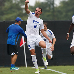 2017-09-01 High Point Panthers soccer at Duke Blue Devils