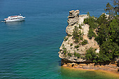 Stock Photography of Pictured Rocks National Lakeshore