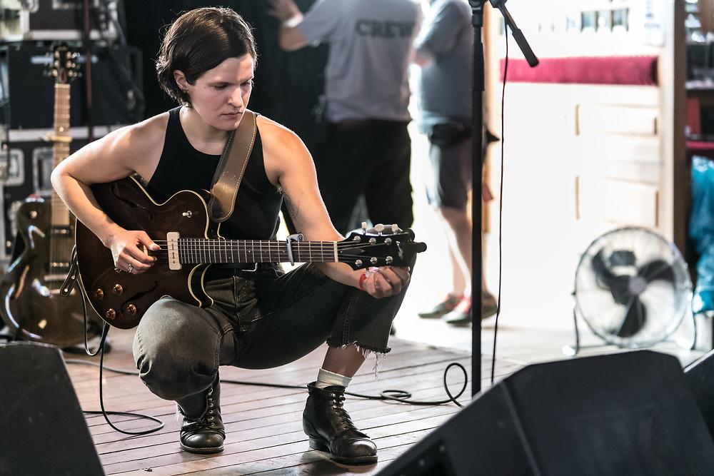 Adrianne Lenker of American indie-rock band Big Thief at Haldern Pop Festival