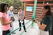 The Happy Hollow Foundation host their Senior Safari event at Happy Hollow Park & Zoo in San Jose, California, on August 22, 2019. (Stan Olszewski/SOSKIphoto)