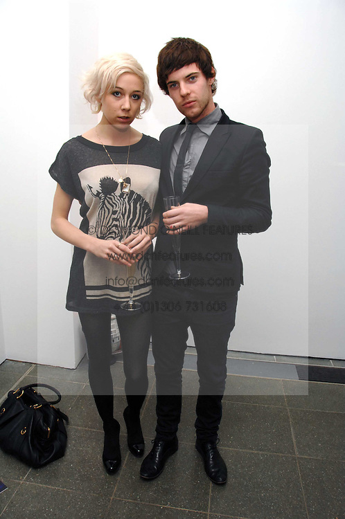 Writer POLLY STENHAM and actor HARRY TREADAWAY at a party to celebrate the publication of Vivienne Westwood's Opus held at The Serpentine Gallery, Kensington Gardens, London W2 on 12th February 2008.<br /><br />NON EXCLUSIVE - WORLD RIGHTS