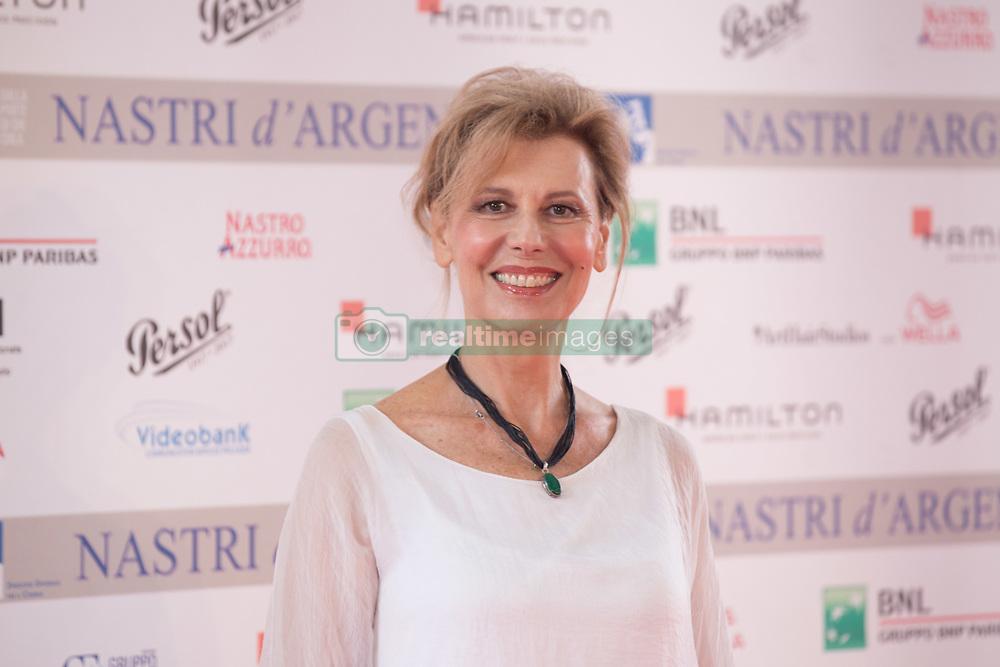June 6, 2017 - Roma, Italy - Daniela Poggi during Photocall of the announcement of nominations to Nastri D'Argento 2017 (Credit Image: © Matteo Nardone/Pacific Press via ZUMA Wire)