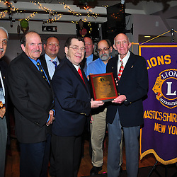 2014-December-11th  Mastic Shirley Lions Club Honors George Lake