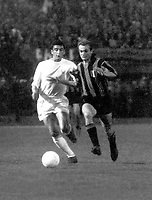 Fotball<br /> Italia<br /> Foto: Colorsport/Digitalsport<br /> NORWAY ONLY<br /> <br /> Mazzola - Inter Milan (in stripes). Inter Milan v Real Madrid, European Cup Final 1964