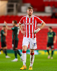 Nathan Collins of Stoke City  - Mandatory by-line: Nick Browning/JMP - 23/12/2020 - FOOTBALL - Bet365 Stadium - Stoke-on-Trent, England - Stoke City v Tottenham Hotspur - Carabao Cup