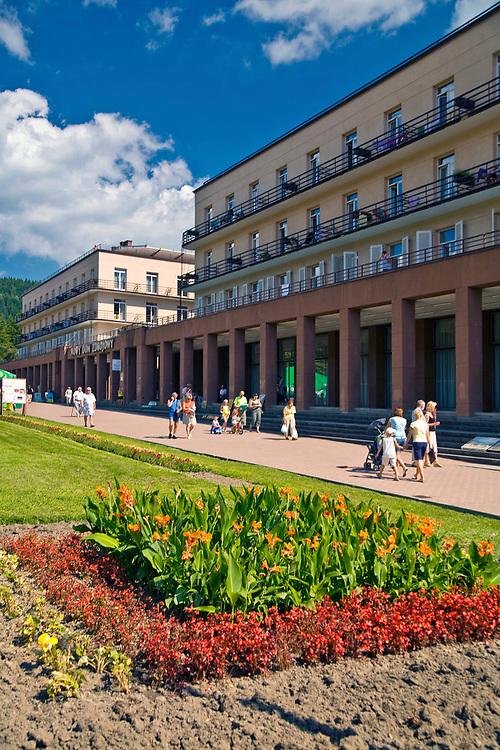 Sanatorium Nowy Dom Zdrojowy, Krynica Zdrój, Polska<br /> Health resort Nowy Dom Zdrojowy, Krynica Zdrój, Poland