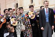 042017 Spanish Royals Attend Cervantes Awards Ceremony to Eduardo Mendoza