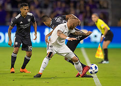 April 21, 2018 - Orlando, FL, U.S. - ORLANDO, FL - APRIL 21: during the MLS soccer match between the Orlando City FC and the San Jose Earthquakes at Orlando City SC on April 21, 2018 at Orlando City Stadium in Orlando, FL. (Photo by Andrew Bershaw/Icon Sportswire) (Credit Image: © Andrew Bershaw/Icon SMI via ZUMA Press)