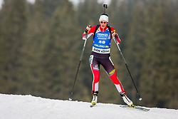 Julia Schwaiger (AUT) during Women 15km Individual at day 5 of IBU Biathlon World Cup 2018/19 Pokljuka, on December 6, 2018 in Rudno polje, Pokljuka, Pokljuka, Slovenia. Photo by Ziga Zupan / Sportida