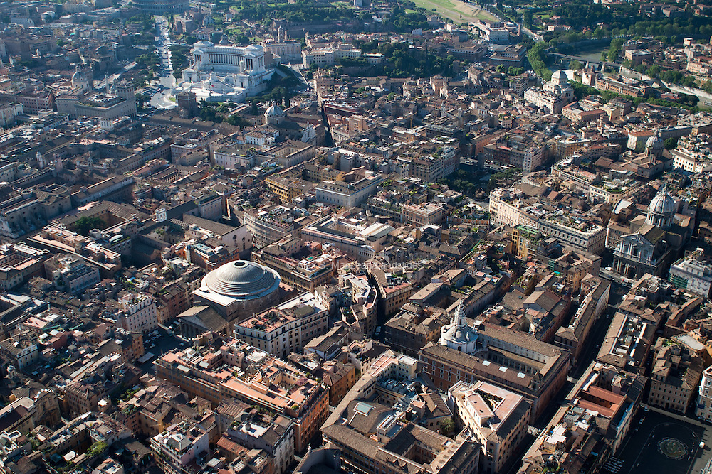 Pantheon to Capoline Hill