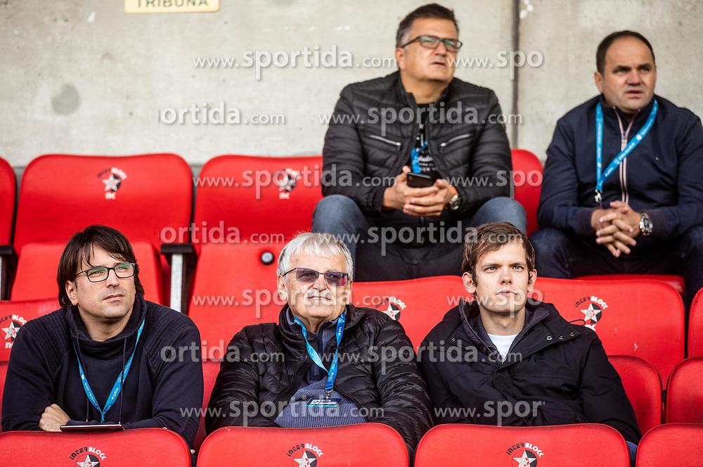 Luka Brezovec, Darko Klaric during football match between NK Bravo and NK Celje in 13th Round of Prva liga Telekom Slovenije 2019/20, on October 5, 2019 in ZAK stadium, Ljubljana, Slovenia. Photo by Vid Ponikvar / Sportida