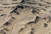 Aerial view of  sand dunes of the Skeleton Coast,Namibia